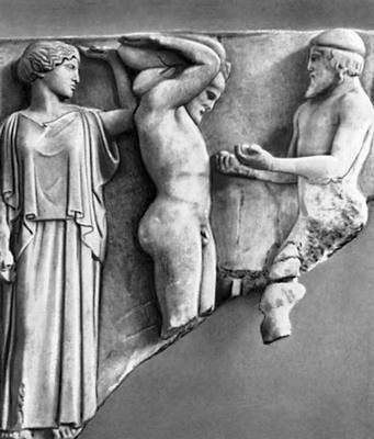 «Атлас, приносящий Гераклу