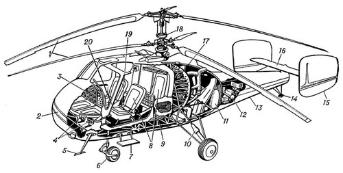 Вертолет-кран Ми-10 с