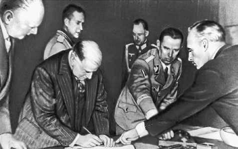 Друга світова війна мюнхенська угода