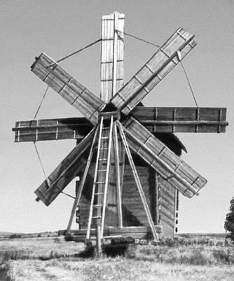 Ветряная мельница. 19 в.