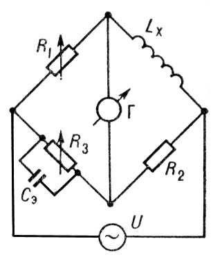 Схема моста для измерения