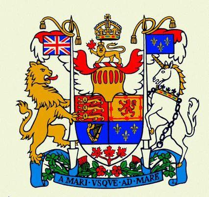 Канада государственный герб