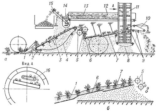 Картоплезбиральні машини