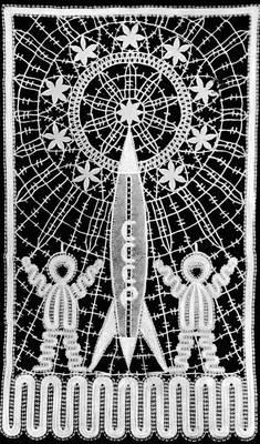 А. а. корабльова. панно «космос». 1968