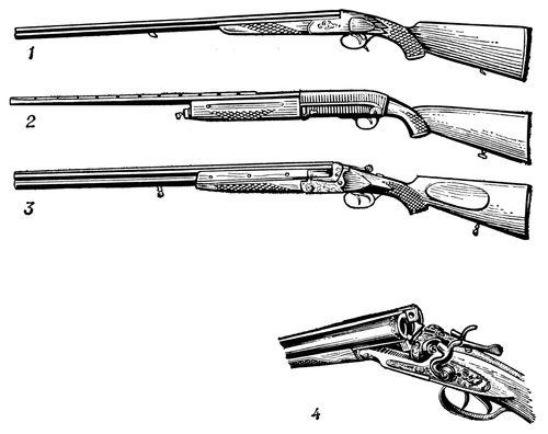 Ружья охотничьи - значение