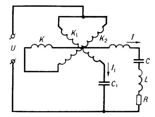 C — коливальний контур (C